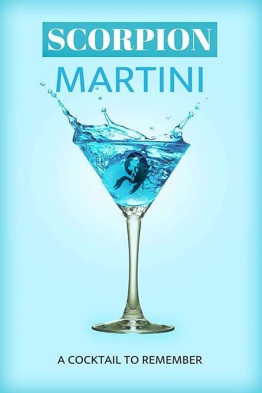 Scorpion Martini