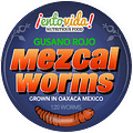 Mezcal Worm Label