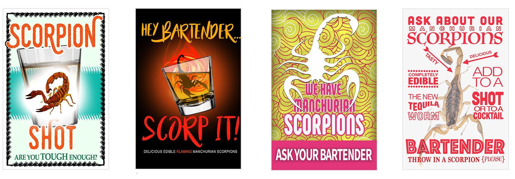 Free Scorpion Marketing Materials